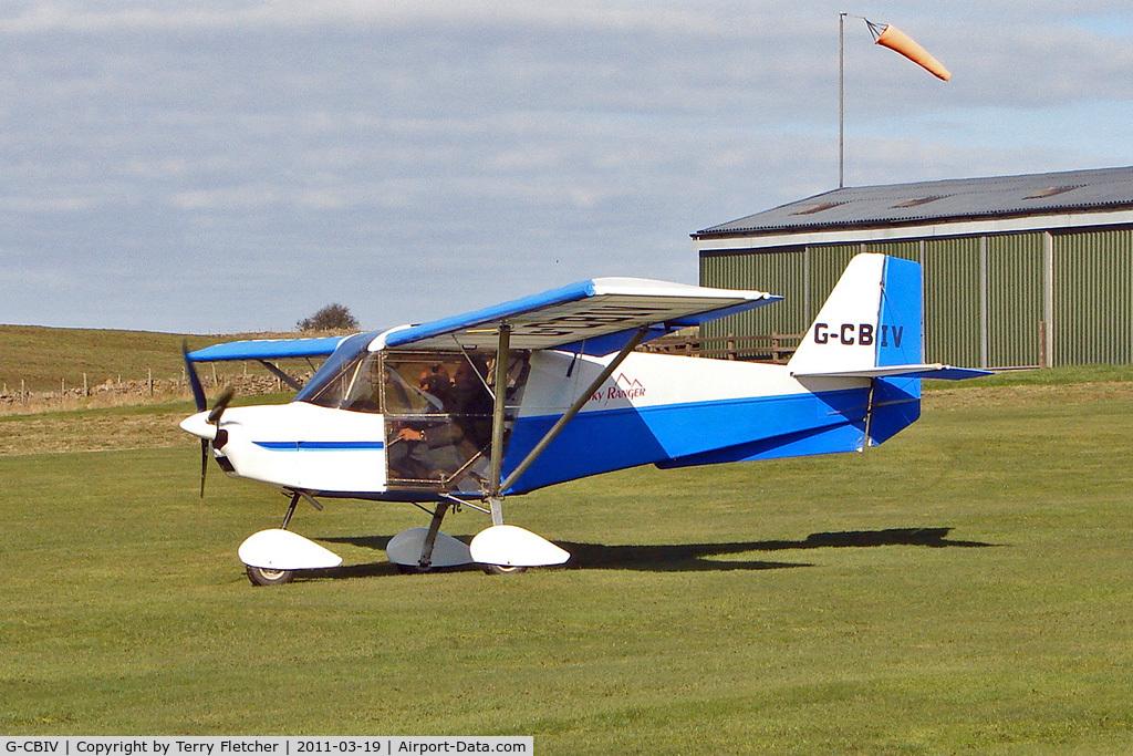 G-CBIV, 2002 Skyranger 912(1) C/N BMAA/HB/201, 2002 Dewhurst Pm SKYRANGER 912(1), c/n: BMAA/HB/201 at home base Carlton Moor