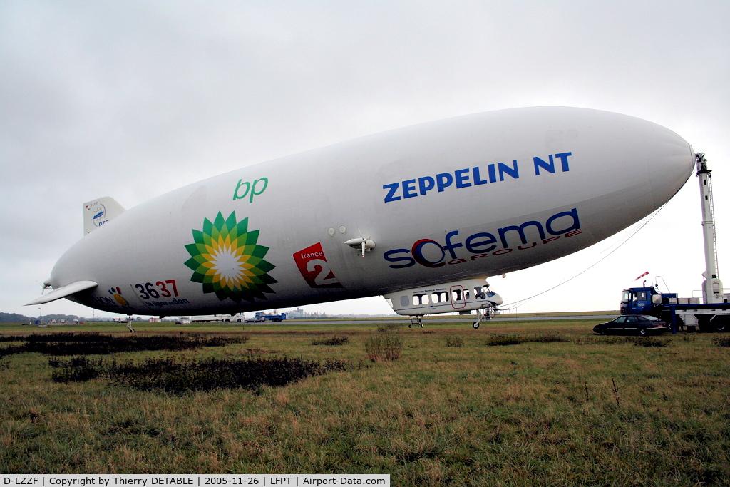 D-LZZF, 1998 Zeppelin LZ-N07 C/N 3, For