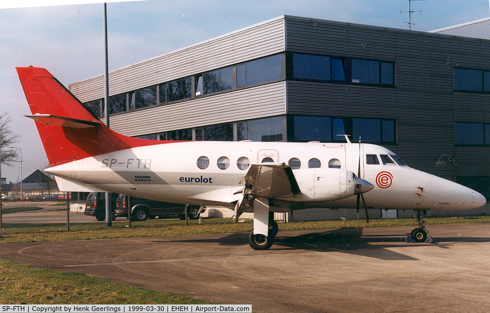 SP-FTH, British Aerospace BAe-3102 Jetstream 31 C/N 649, Eurolot - Tasawi Air Services ; ex PH-KJC of Netherlines