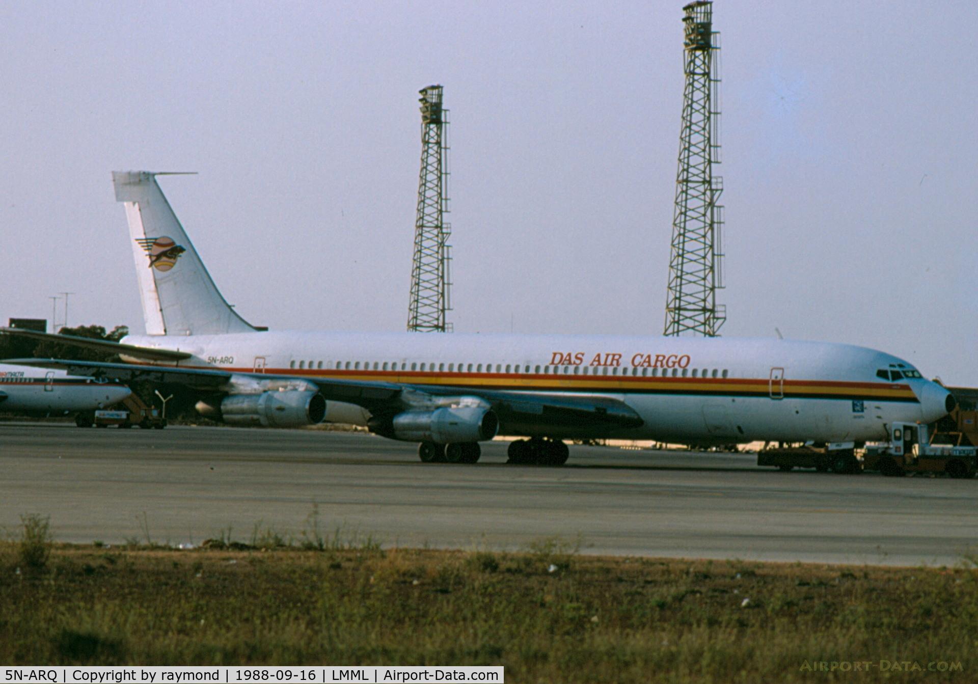 5N-ARQ, 1965 Boeing 707-338C C/N 18809, B707 5N-ARQ DAS Air Cargo