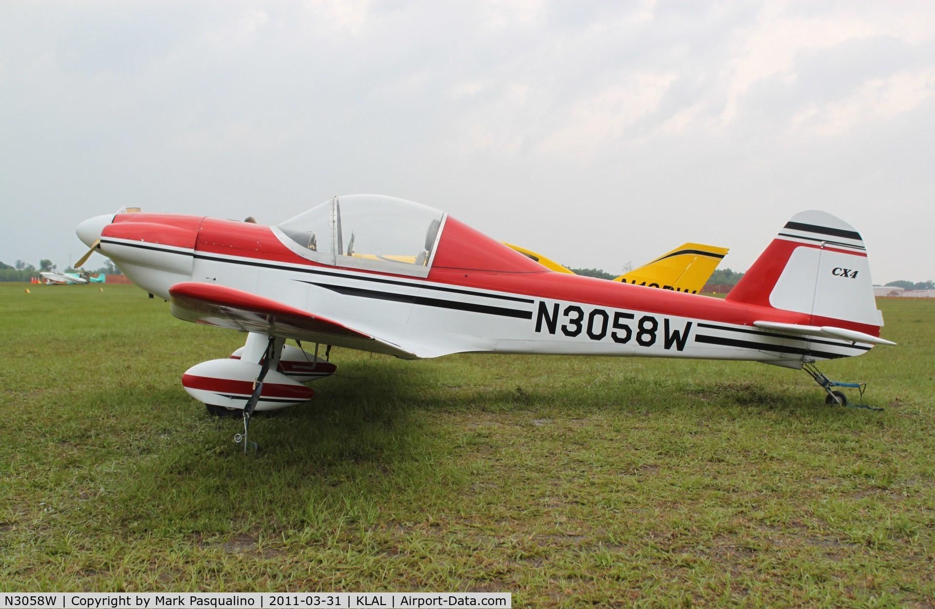 N3058W, 2003 Thatcher CX4 C/N 01, CX4