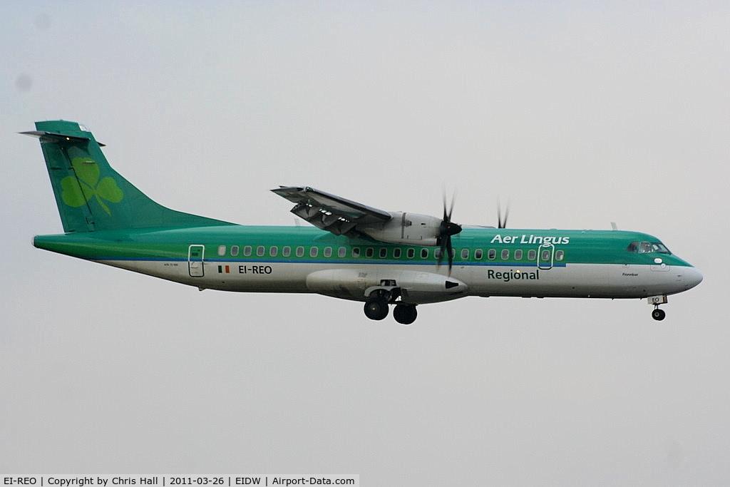 EI-REO, 2008 ATR 72-212A C/N 787, Aer Lingus Regional