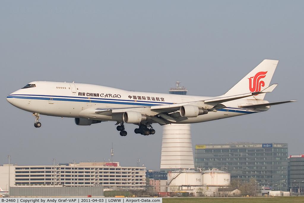 B-2460, Boeing 747-4J6 (M) C/N 24348, Air China Cargo 747-400