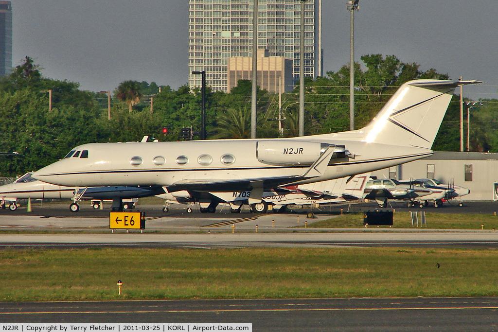 N2JR, 1973 Grumman G-1159B Gulfstream II C/N 131, 1973 Gulfstream Aerospace G1159B, c/n: 131