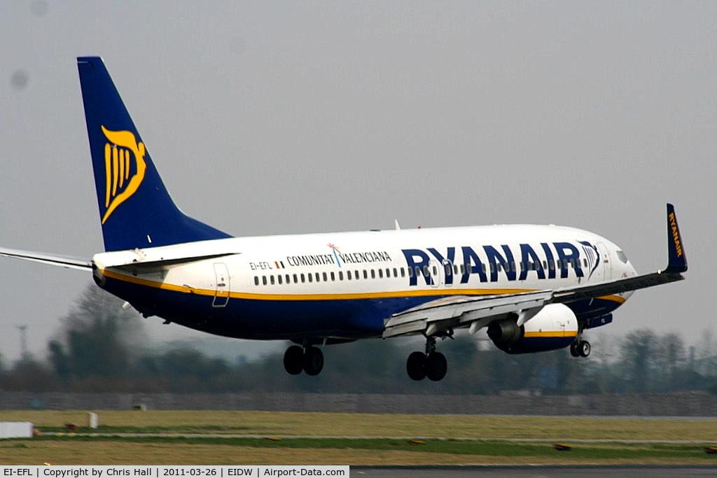 EI-EFL, 2009 Boeing 737-8AS C/N 37534, Ryanair