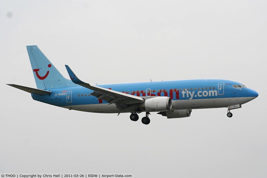 G-THOO, 1998 Boeing 737-33V C/N 29335, Thomson