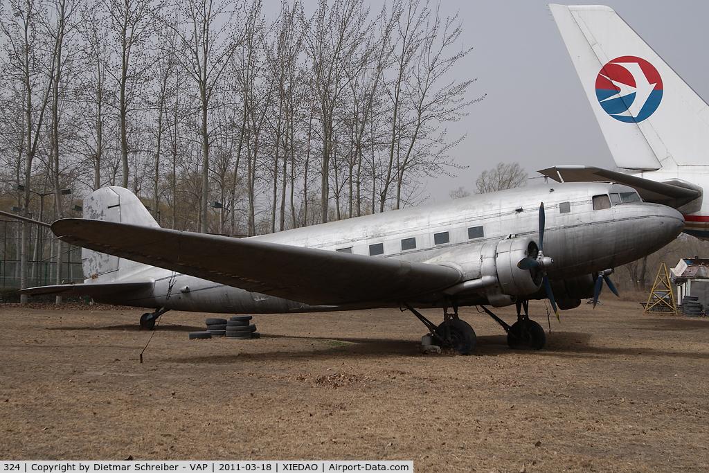 324, Lisunov Li-2 C/N Not found 324, Lisunov 2 (DC3) China Civil Aviation Museum
