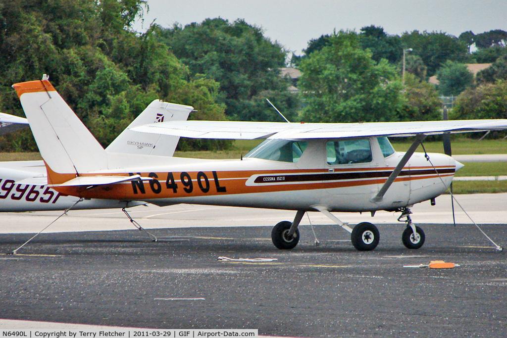 N6490L, Cessna 152 C/N 15284417, Cessna 152, c/n: 15284417