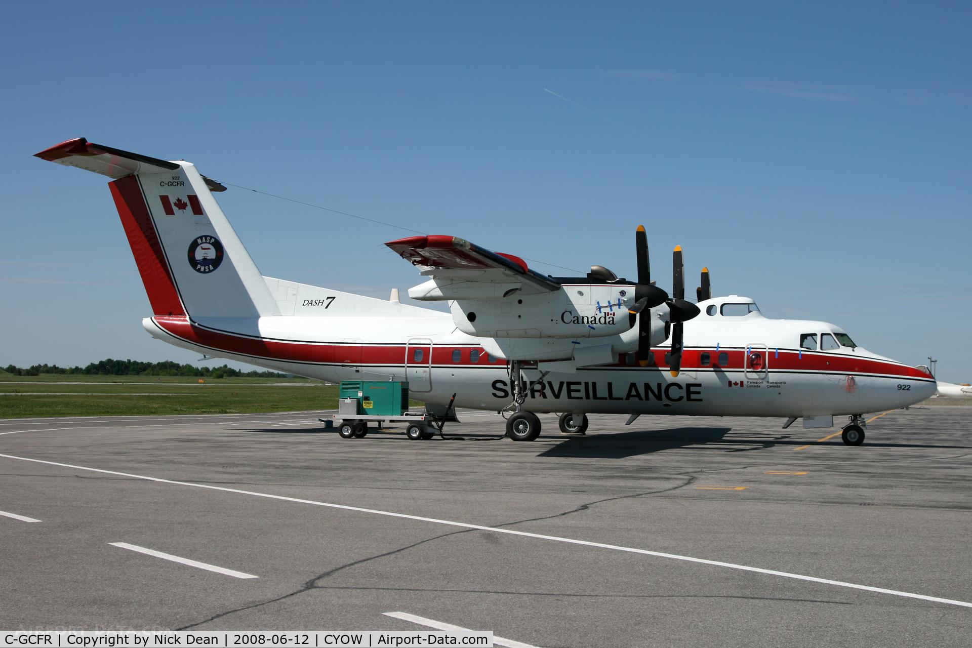 C-GCFR, 1985 De Havilland Canada DHC-7-150 Dash 7 C/N 102, CYOW