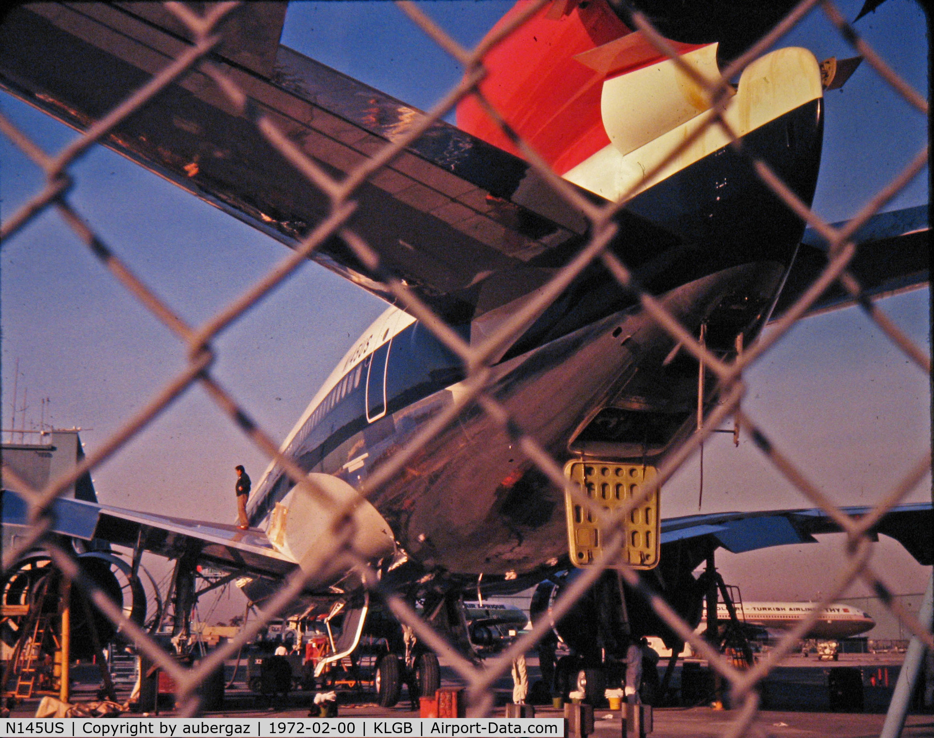 N145US, 1973 Douglas DC-10-40 C/N 46754, Pre-delivery at LGB