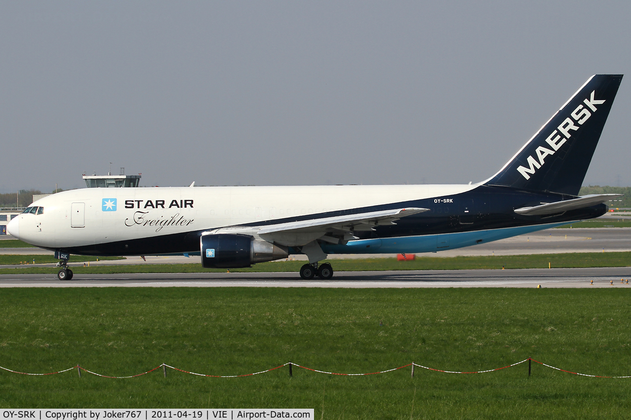 OY-SRK, 1985 Boeing 767-204 C/N 23072, Star Air