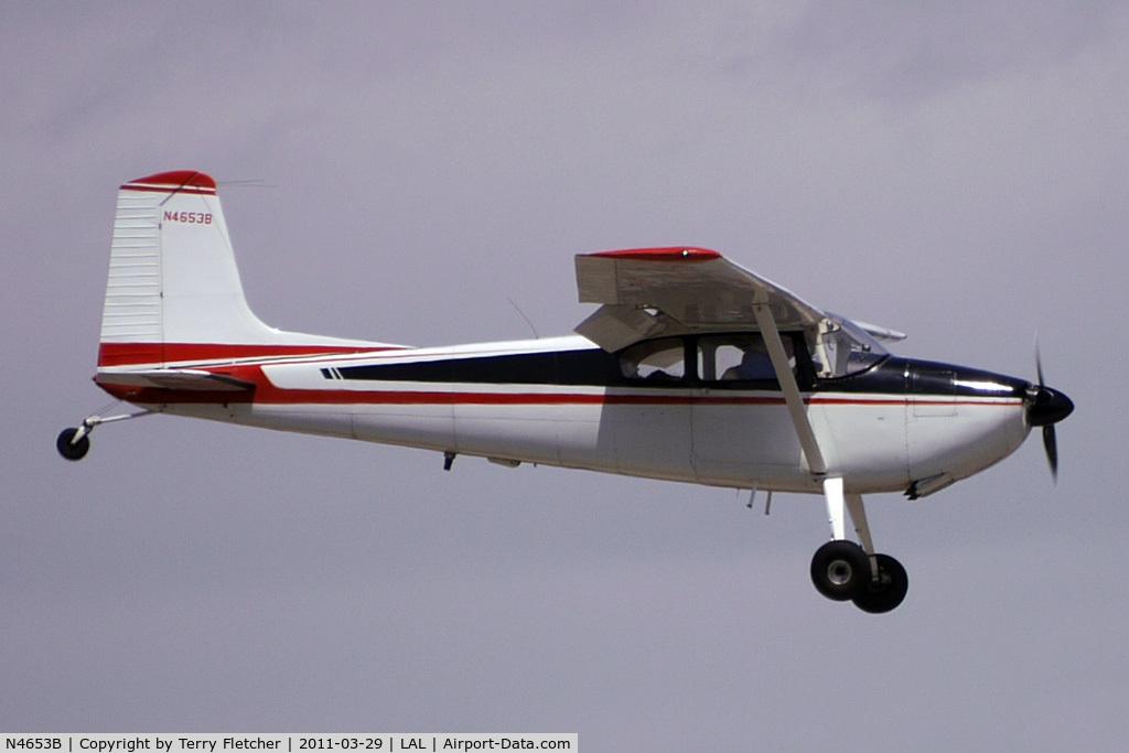 N4653B, 1955 Cessna 180 C/N 31551, 2011 Sun n Fun - Lakeland , Florida