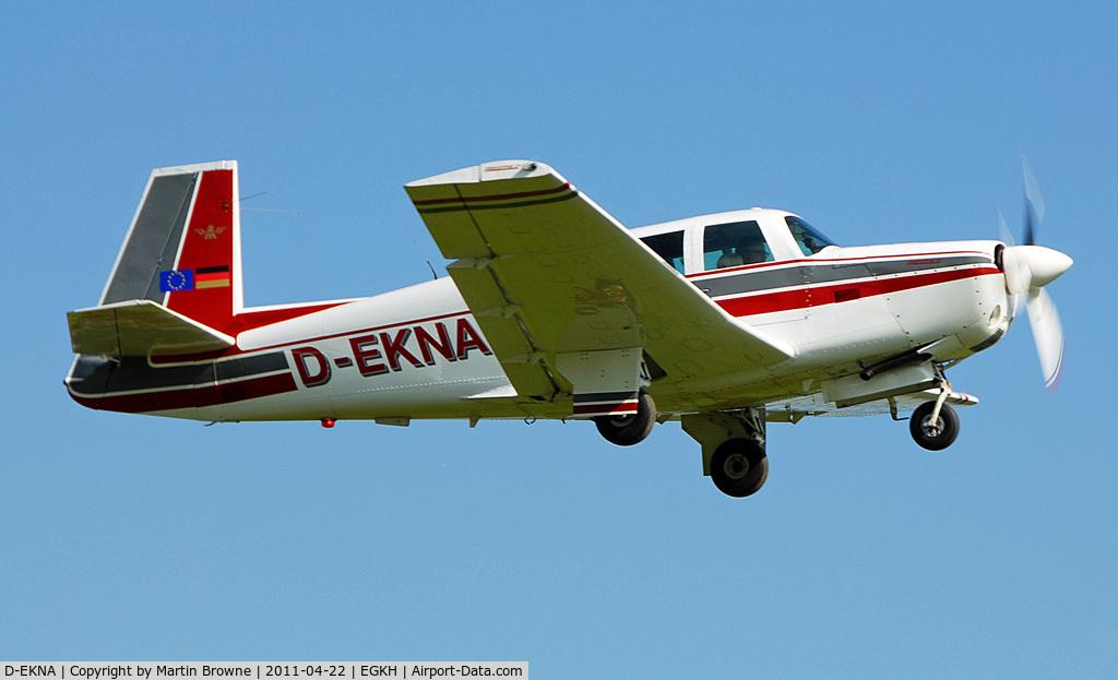 D-EKNA, 1967 Mooney M20F Executive C/N 67-0297, GERMAN VISITOR