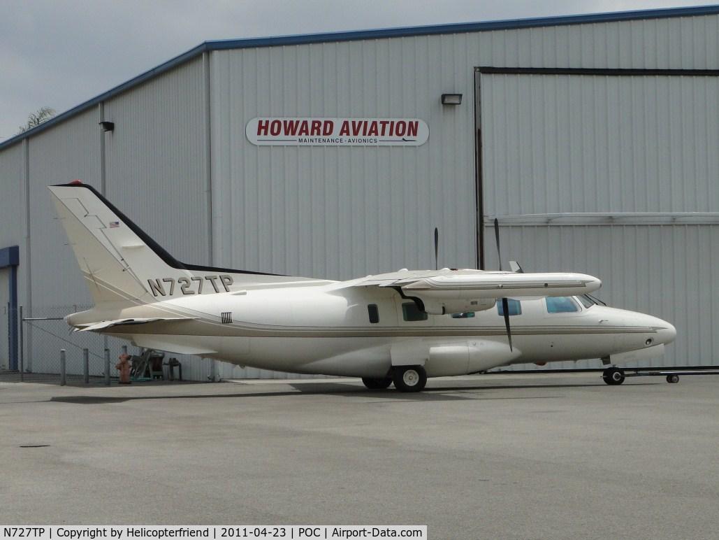 N727TP, 1981 Mitsubishi MU-2B-60 C/N 1517SA, Parked at Howard Aviation