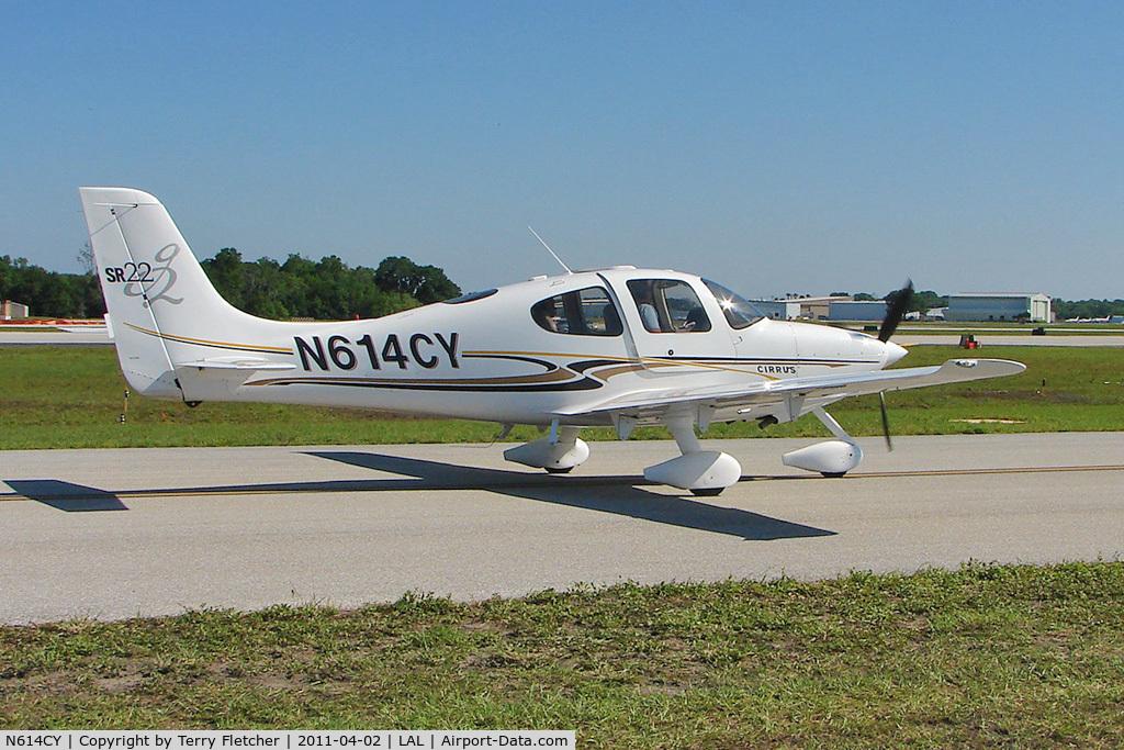 N614CY, 2004 Cirrus SR22 G2 C/N 1050, 2011 Sun n Fun at Lakeland , Florida