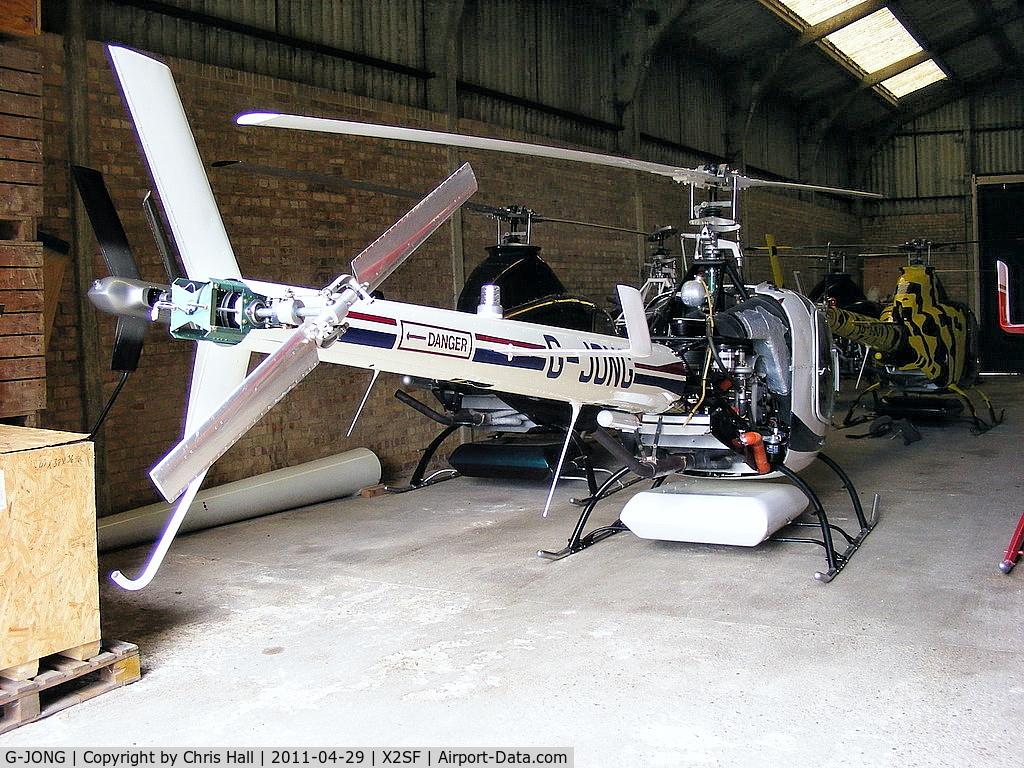 G-JONG, 2004 Rotorway Exec 162F C/N 6168, At Rotorway UK, Street Farm, Takeley