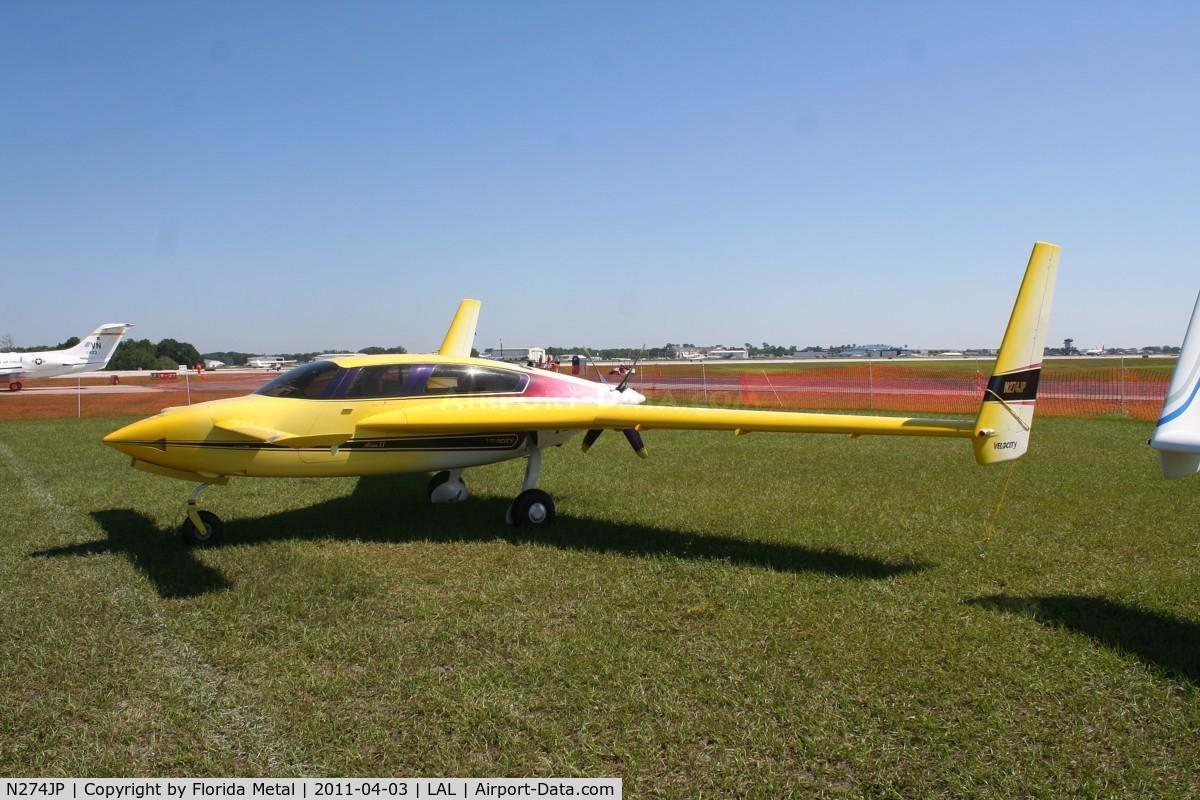 N274JP, 2000 Velocity Velocity XL C/N 3RX053, Velocity XL