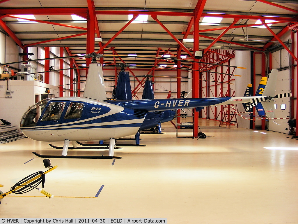 G-HVER, 2007 Robinson R44 Raven II C/N 11754, Equation Associates Ltd