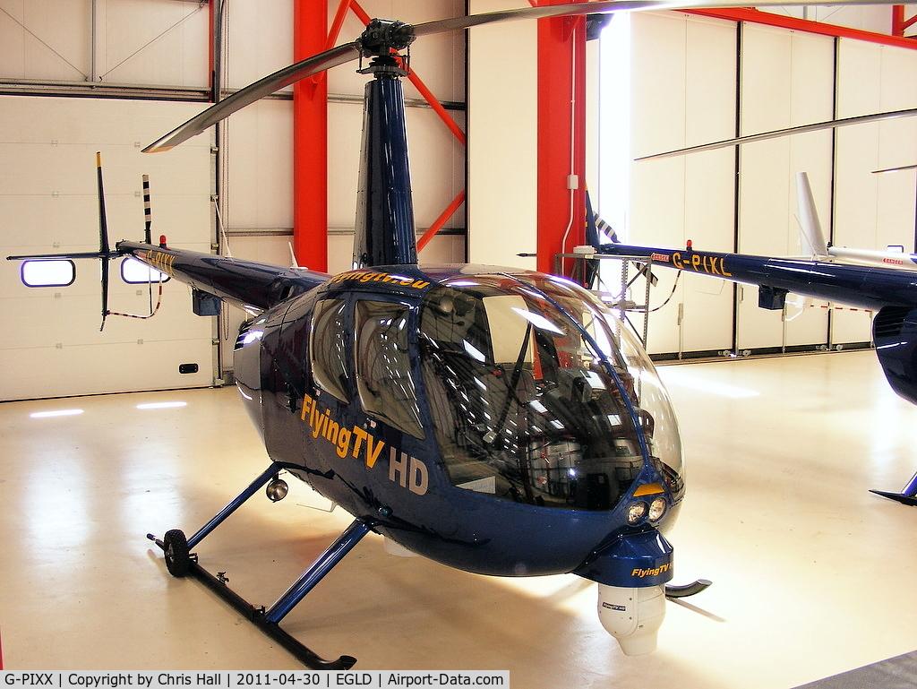 G-PIXX, 2004 Robinson R44 Raven II C/N 10263, Flying TV Ltd