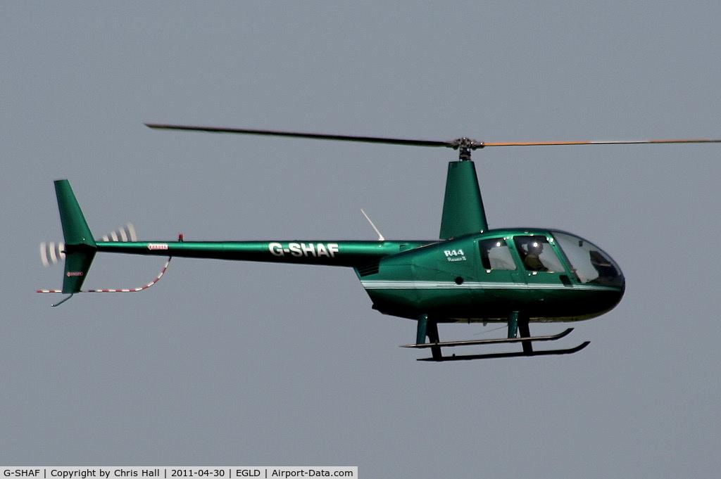 G-SHAF, 2005 Robinson R44 Raven II C/N 10892, Tresillian Leisure Ltd