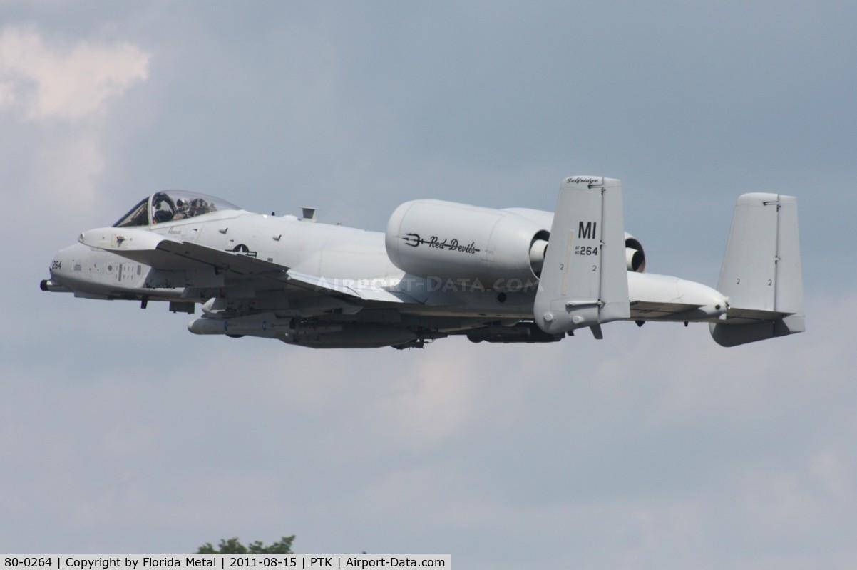 80-0264, 1980 Fairchild Republic A-10C Thunderbolt II C/N A10-0614, A-10A
