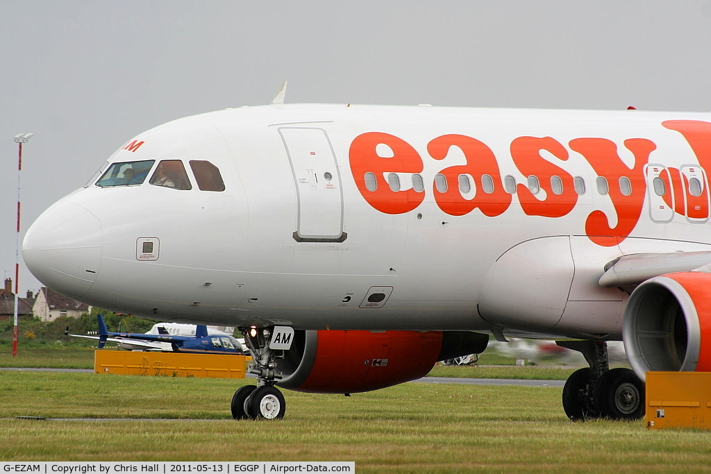 G-EZAM, 2003 Airbus A319-111 C/N 2037, easyJet