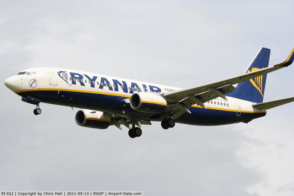 EI-DLI, 2006 Boeing 737-8AS C/N 33591, Ryanair