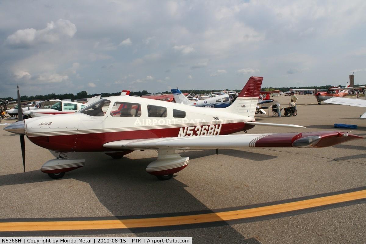 N5368H, 2003 Piper PA-28-181 C/N 2843562, PA-28-181