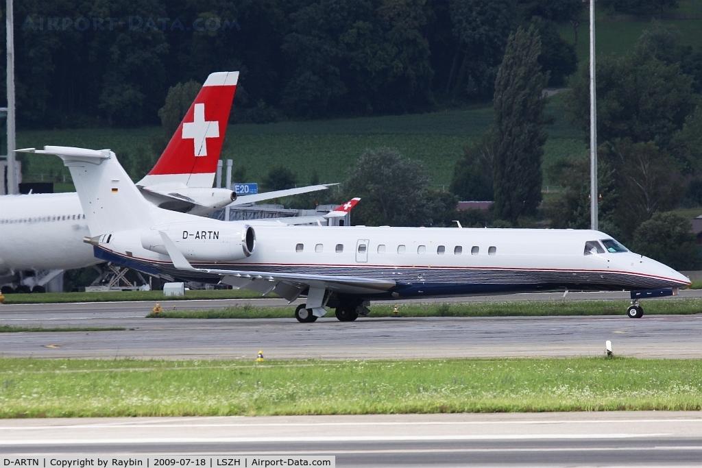 D-ARTN, Embraer EMB-135BJ Legacy C/N 14500941, Nice livery, remembers the Cirrus (bizjets)livery