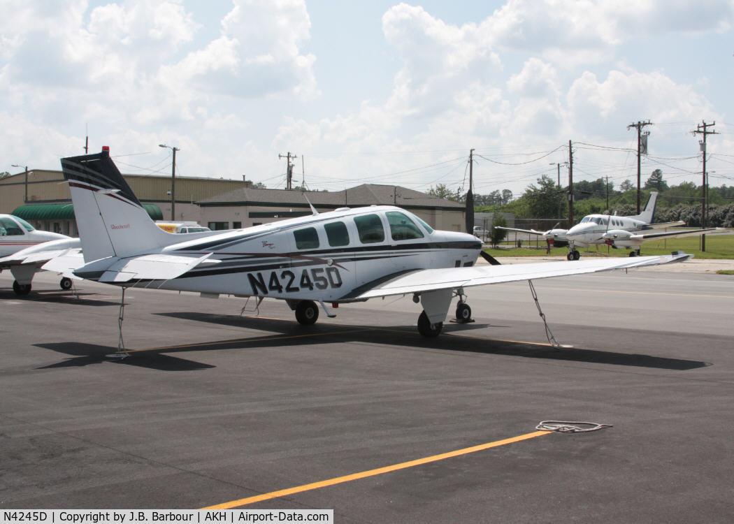 N4245D, 1999 Raytheon Aircraft Company B36TC Bonanza C/N EA-645, Nothing