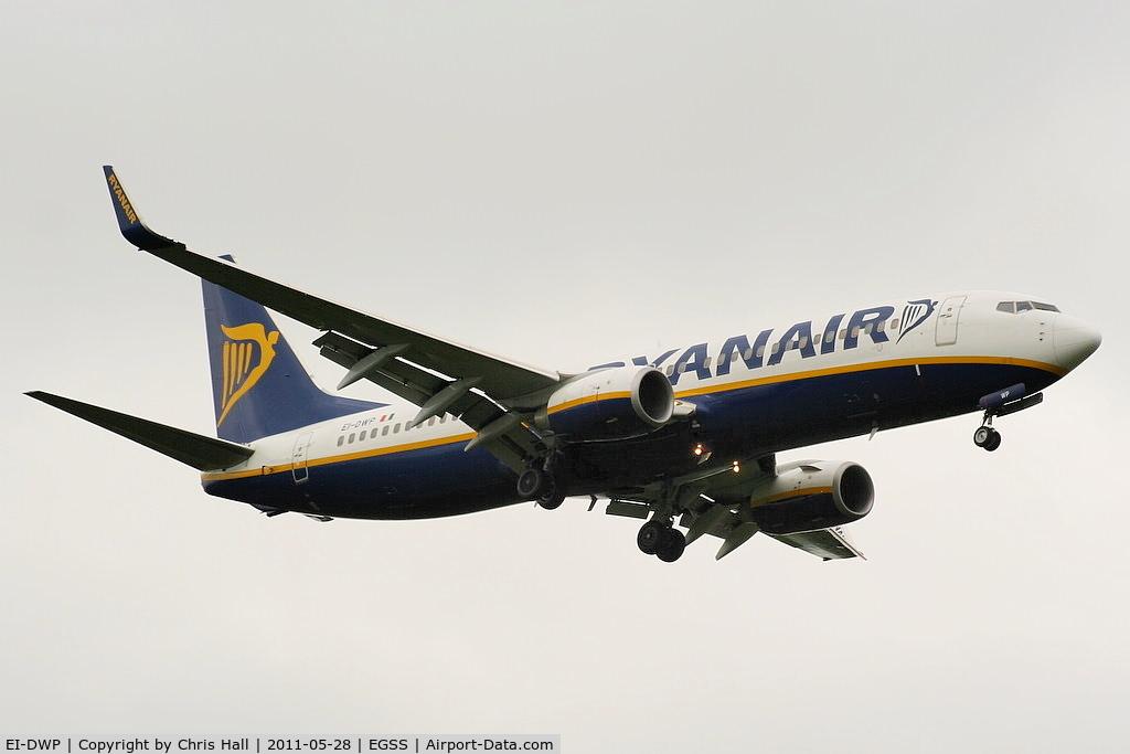EI-DWP, 2007 Boeing 737-8AS C/N 36082, Ryanair