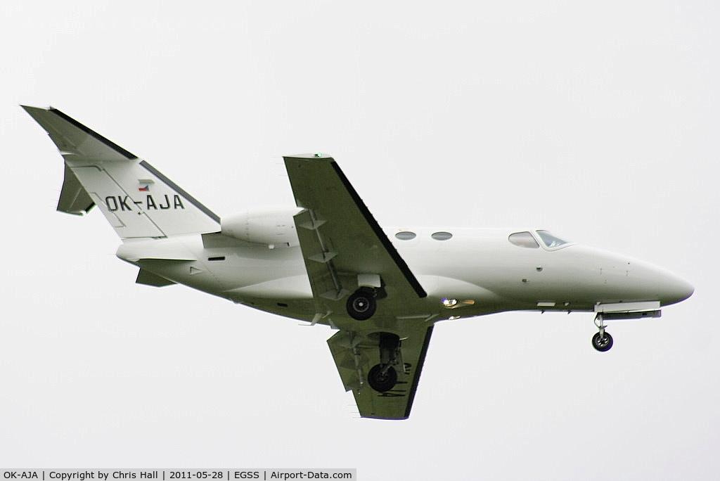 OK-AJA, 2009 Cessna 510 Citation Mustang Citation Mustang C/N 510-0272, Time Air