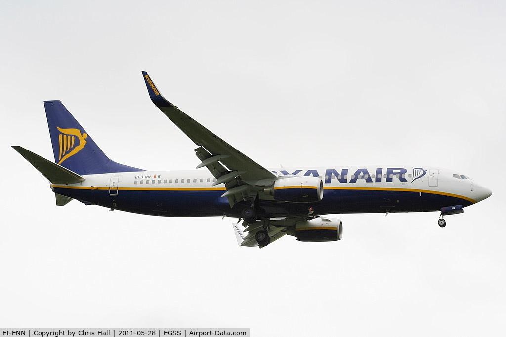 EI-ENN, 2010 Boeing 737-8AS C/N 35036, Ryanair