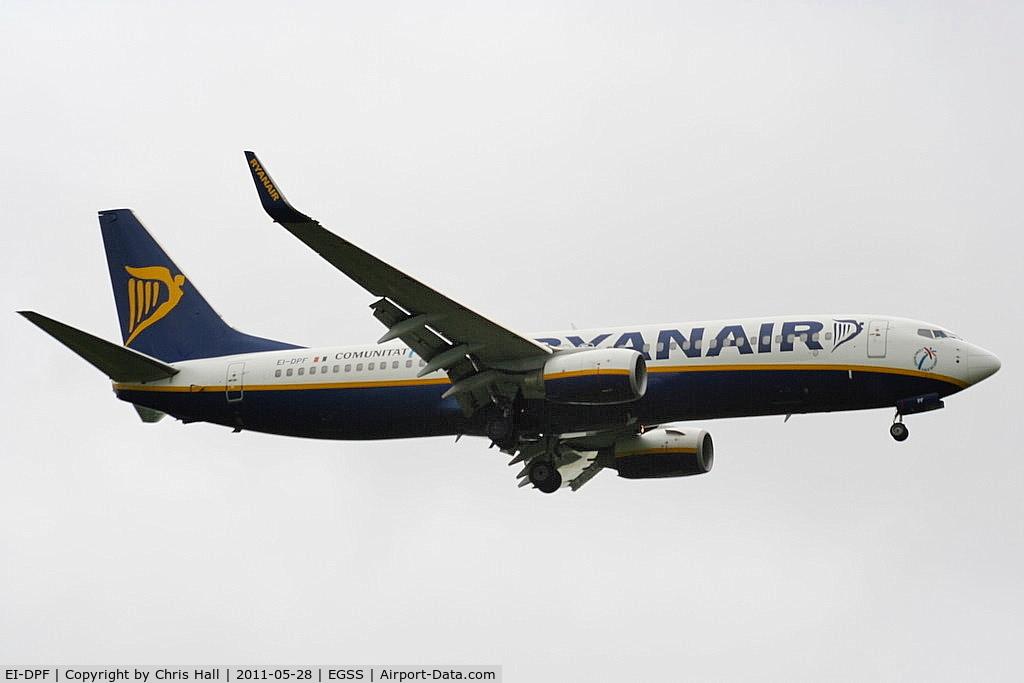 EI-DPF, 2007 Boeing 737-8AS C/N 33606, Ryanair