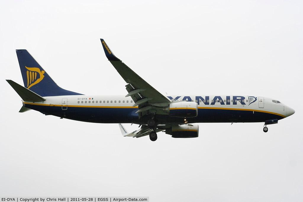 EI-DYA, 2008 Boeing 737-8AS C/N 33631, Ryanair
