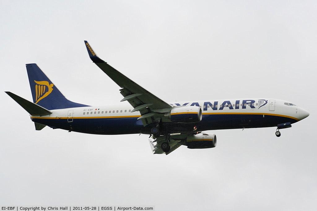 EI-EBF, 2009 Boeing 737-8AS C/N 37524, Ryanair