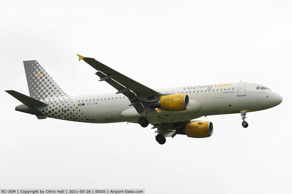 EC-JGM, 2005 Airbus A320-214 C/N 2407, Vueling Airlines