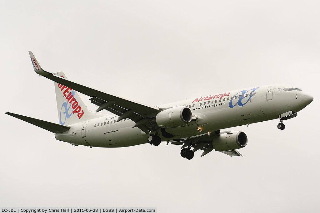 EC-JBL, 2004 Boeing 737-85P C/N 33974, Air Europa