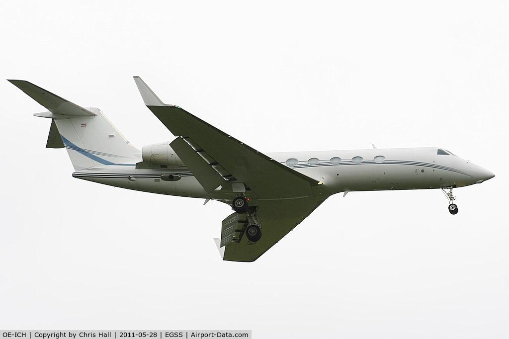 OE-ICH, 2007 Gulfstream Aerospace GIV-X (G450) C/N 4104, Global Jet Austria