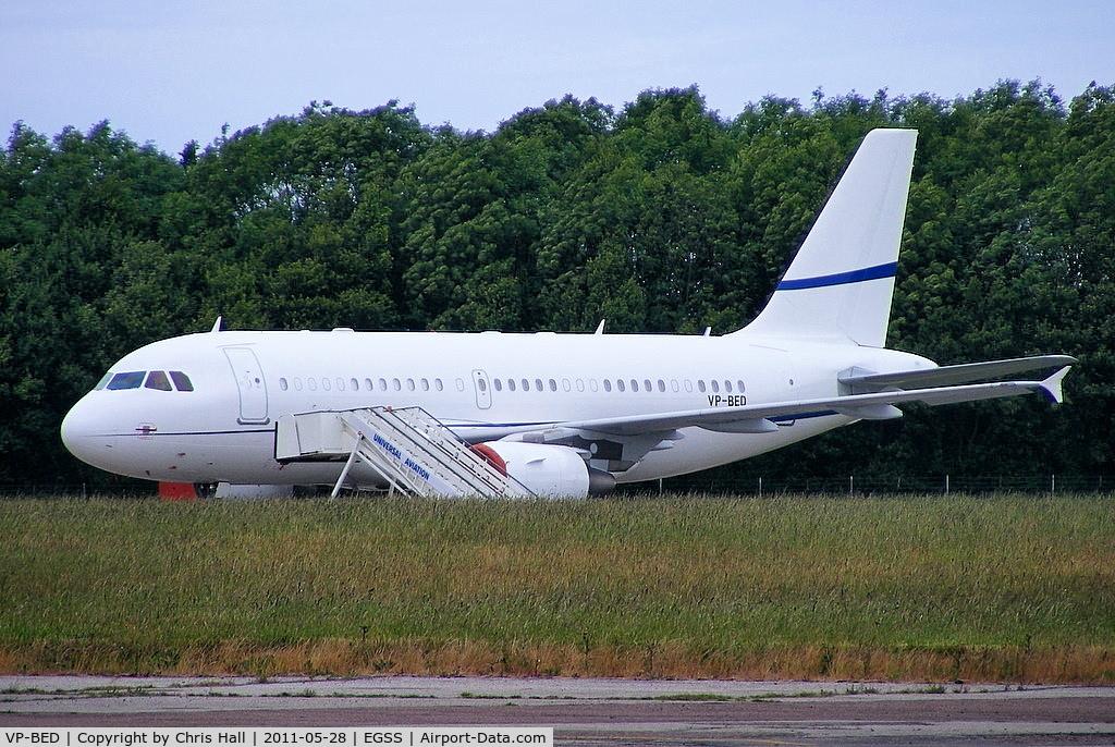 VP-BED, 2007 Airbus ACJ319 (A319-115/CJ) C/N 3073, SonAir Servicio Aereo