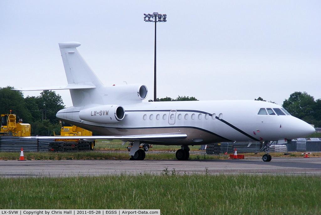 LX-SVW, 2008 Dassault Falcon 900DX C/N 619, Global Jet Luxembourg
