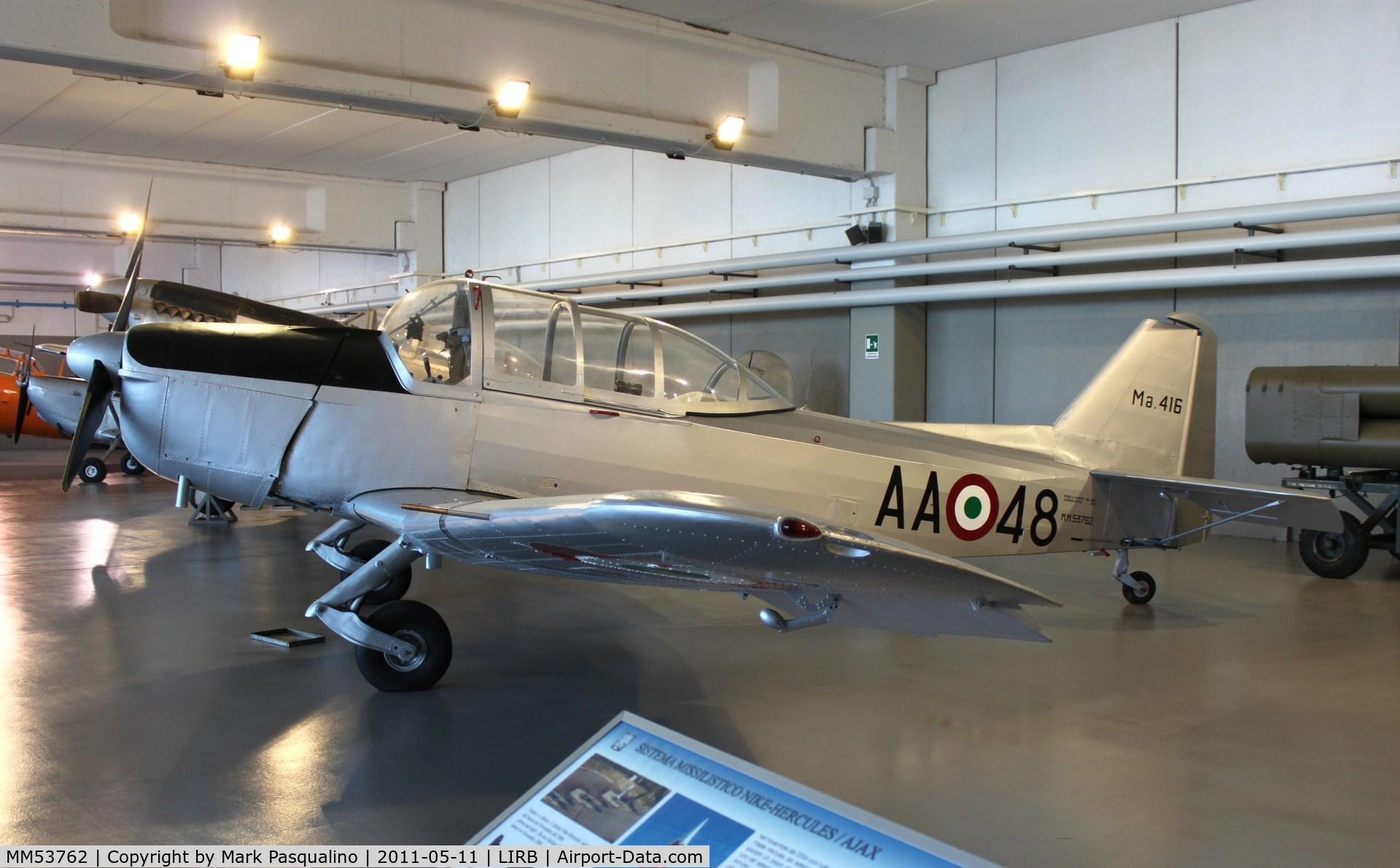 MM53762, 1950 Macchi M.416 C/N 1059, Macchi M.416