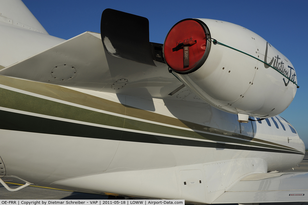 OE-FRR, 1995 Cessna 525 CitationJet CJ1 C/N 525-0124, Cessna 525