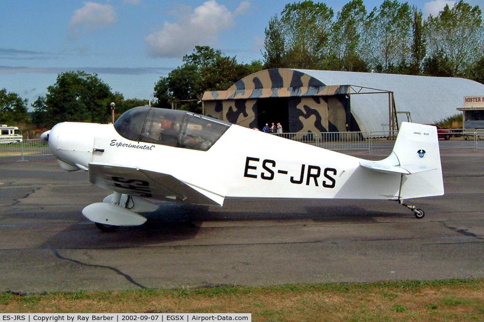 ES-JRS, 1957 SAN Jodel D-117 C/N B729, Jodel D.117 Gran Tourisme [B729]  North Weald~G 07/09/2002