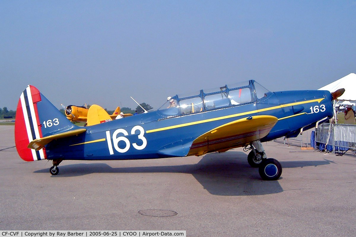 CF-CVF, 1947 Fairchild M-62A-3 Cornell II C/N 1070, Fairchild PT-26A Cornell [1070] Oshawa~C 25/06/2005