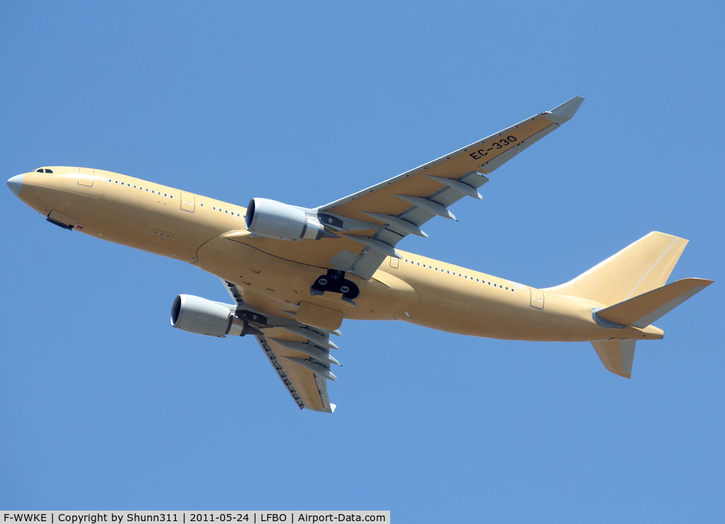 F-WWKE, 2011 Airbus A330-203/MRTT C/N 1235, C/n 1235 - For Royal Saudi Air Force... To be EC-330 for ferry flight to Madrid...