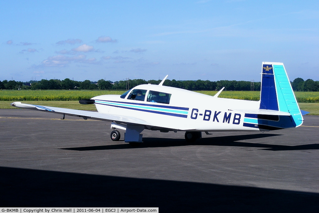 G-BKMB, 1982 Mooney M20J 201 C/N 24-1307, privately owned