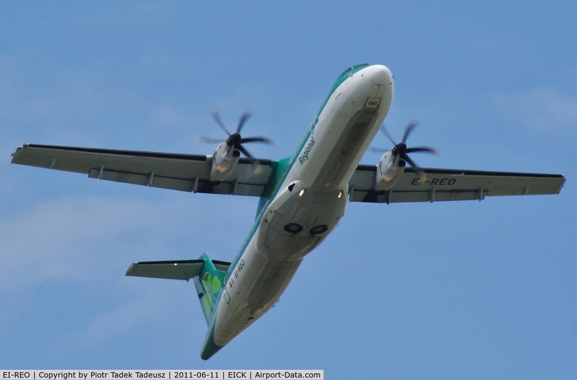 EI-REO, 2008 ATR 72-212A C/N 787, Cork.
