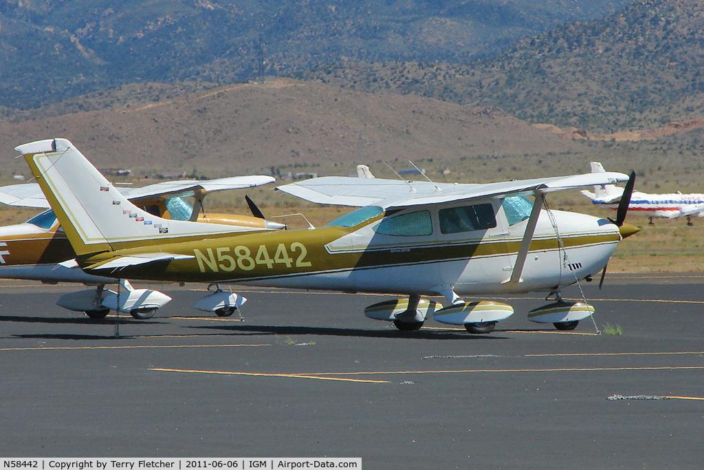 N58442, 1973 Cessna 182P Skylane C/N 18262066, 1973 Cessna 182P, c/n: 18262066 at Kingman