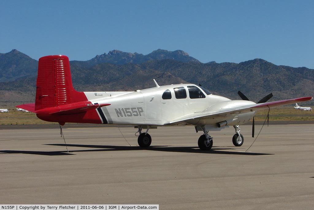N155P, 1956 Beech D50 Twin Bonanza C/N DH-76, 1956 Beech D-50, c/n: DH-76 at Kingman